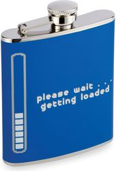 Drinking Flask - Getting Loaded - 7 oz. Drinking