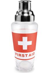 Emergency First Aid - Glass 30 oz. Martini Shaker