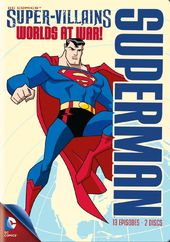 Superman Super-Villains: Worlds at War! (2-DVD)