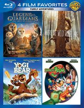 4 Film Favorites: Family Adventures (Blu-ray)