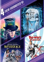 4 Film Favorites: Tim Burton Collection (Charlie
