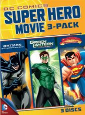 DC Comics Super Hero Movie 3-Pack (3-DVD)