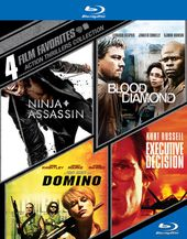 4 Film Favorites: Action Thrillers Collection