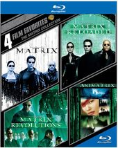 The Matrix Collection: 4 Film Favorites (Blu-ray)