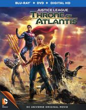 Justice League: Throne of Atlantis (Blu-ray + DVD)