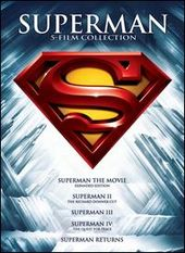 Superman 5-Film Collection (5-DVD)