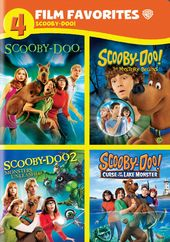 Scooby-Doo: 4 Film Favorites (4-DVD)