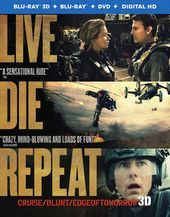 Edge of Tomorrow 3D (Blu-ray + DVD)