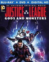 Justice League: Gods and Monsters (Blu-ray + DVD)