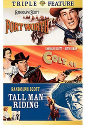 Randolph Scott Triple Feature: Fort Worth / Colt