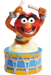 The Muppets - Animal on Drum Salt & Pepper Shakers