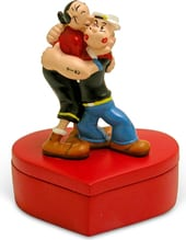 Popeye - Popeye & Olive Oyl In Love: Trinket Box