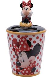 Disney - Minnie Mouse Dots Toothbrush Holder