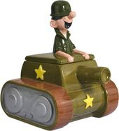 Beetle Bailey - Beetle Bailey in Tank Cookie Jar