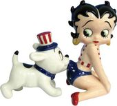 Betty Boop - Betty and Pudgy USA Salt & Pepper