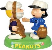 Peanuts - Schroeder & Lucy Baseball In Tray Salt