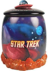 Star Trek - Enterprise In Space Cookie Jar