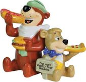 Hanna Barbera - Yogi & Boo-Boo Eating - Salt &