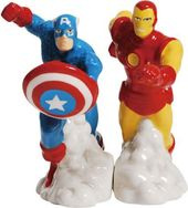 Marvel Comics - Captain America & Iron Man Salt &