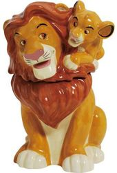 Disney - Lion King - Simba On Mufasa - Ceramic