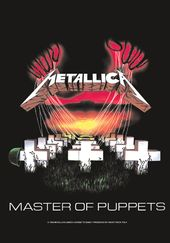 Metallica - Master of Puppets: Flag / Poster /