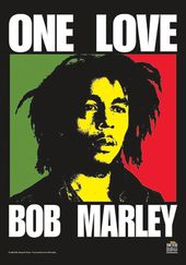 Bob Marley - One Love: Flag / Poster / Scarf (30""