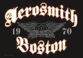 "Aerosmith - Boston - Flag / Poster / Scarf (30"" x"