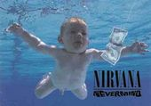 "Nirvana - Nevermind: Flag / Poster / Scarf (30"" x"