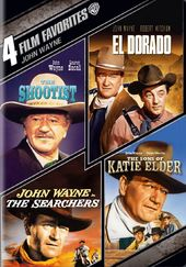 John Wayne: 4 Film Favorites (The Shootist / El