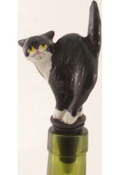 Black Cat - Bottle Stopper