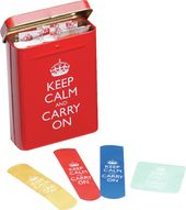 Keep Calm & Carry On - Bandages In A Tin