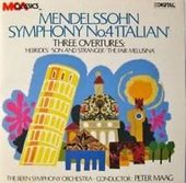 Mendelssohn Symphony No. 4 'Italian'/Three