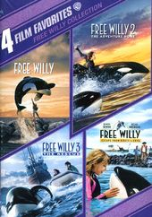 Free Willy Collection: 4 Film Favorites (2-DVD)
