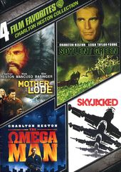 Charlton Heston Collection: 4 Film Favorites