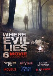 Where Evil Lies: 6-Movie Collection (2-DVD)