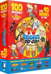 TV Toons to Go! 110-Episode Collection (10-DVD)
