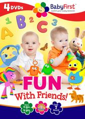 Baby First - Fun with Friends (4-DVD)