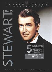 James Stewart: Screen Legend Collection (3-DVD,