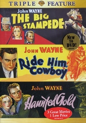 John Wayne Triple Feature (The Big Stampede /