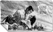 Gone With the Wind - Chiaroscuro Fleece Blanket
