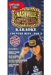 Karaoke Country Hits, Pak 3 (2-CD)
