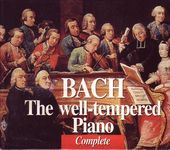 Bach: The Well-Tempered Piano Complete (4-CD)