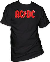 AC/DC - Red Logo T-Shirt (Medium)