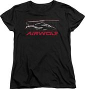 Airwolf - Grid T-Shirt (Large)