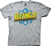 Big Bang Theory - BAZINGA! Again T-Shirt (X-Large)