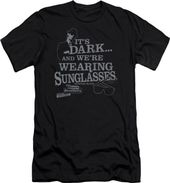 Blues Brothers - It's Dark... T-Shirt (Large)