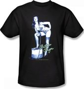 Betty Page - Whip Kiss T-Shirt (Medium)