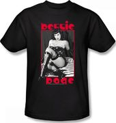 Betty Page - Midnight Mistress T-Shirt (Large)