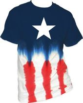 Marvel Comics - Captain America - Star-Staggered