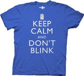 Doctor Who - Keep Calm T-Shirt (Large)